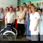 Un fauteuil roulant pour l'hôpital Ste. Catherine de Saverne